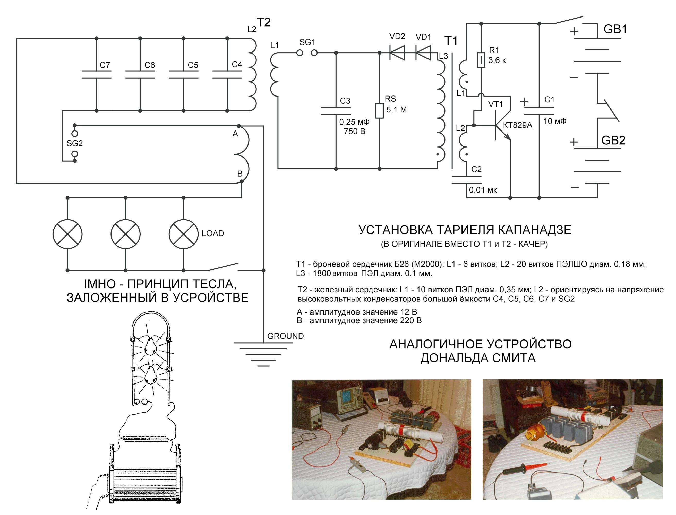 Как сделать бестопливный генератор своими руками